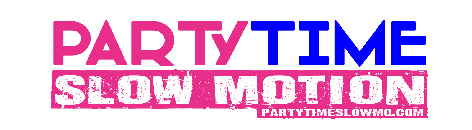Party Time Slow Motion Logo